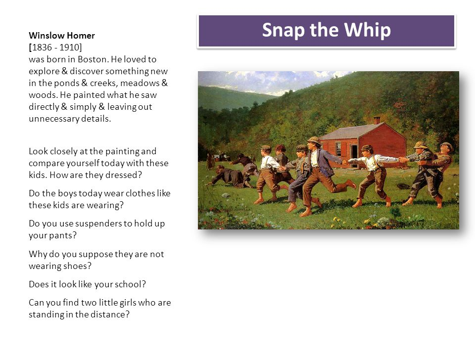 Snap the Whip