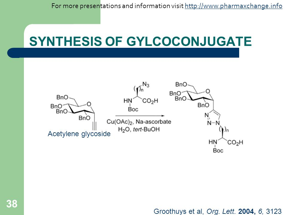SYNTHESIS OF GYLCOCONJUGATE