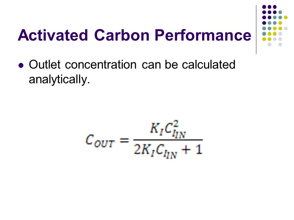 Activated Carbon Performance
