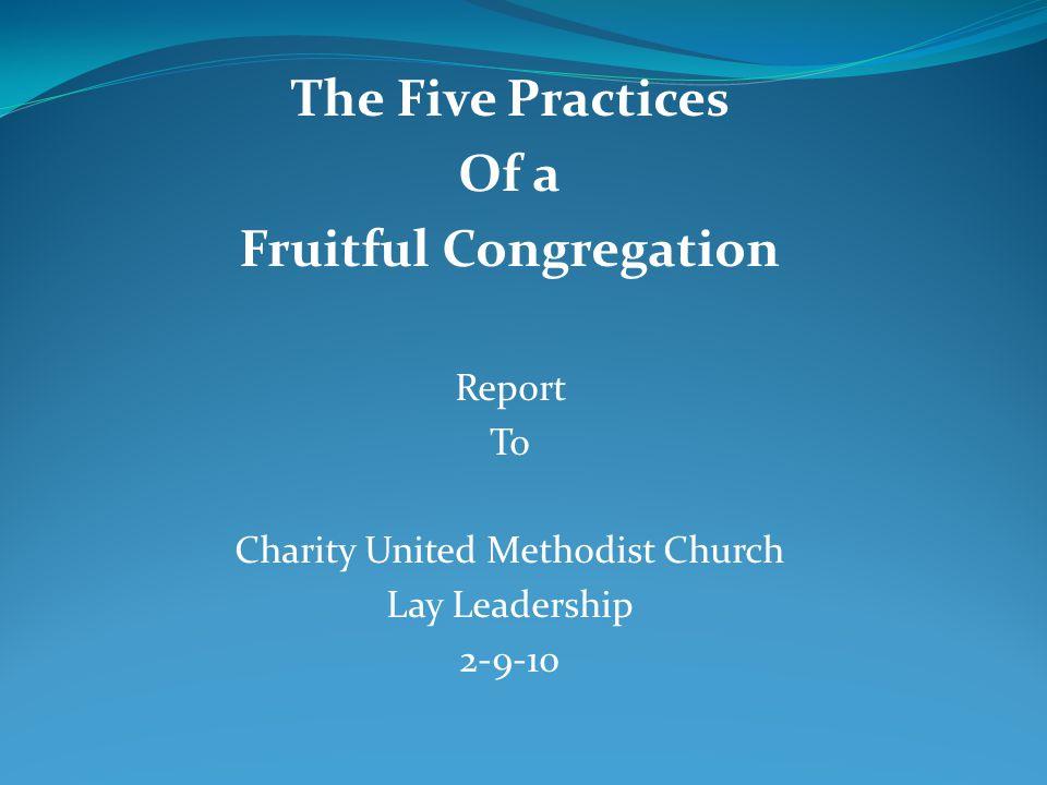 Fruitful Congregation