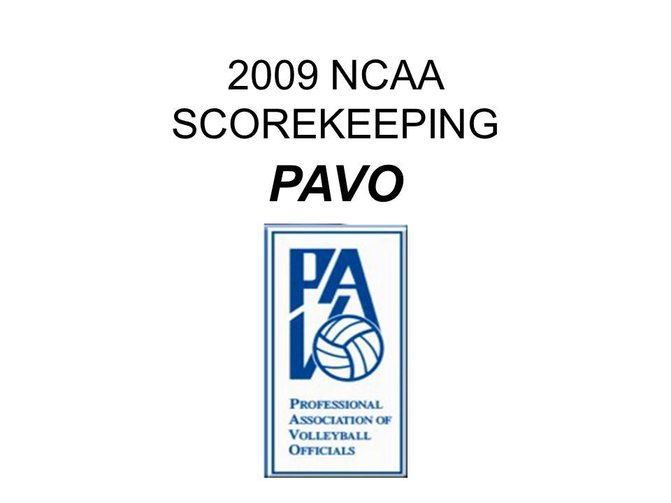 2009 NCAA SCOREKEEPING PAVO