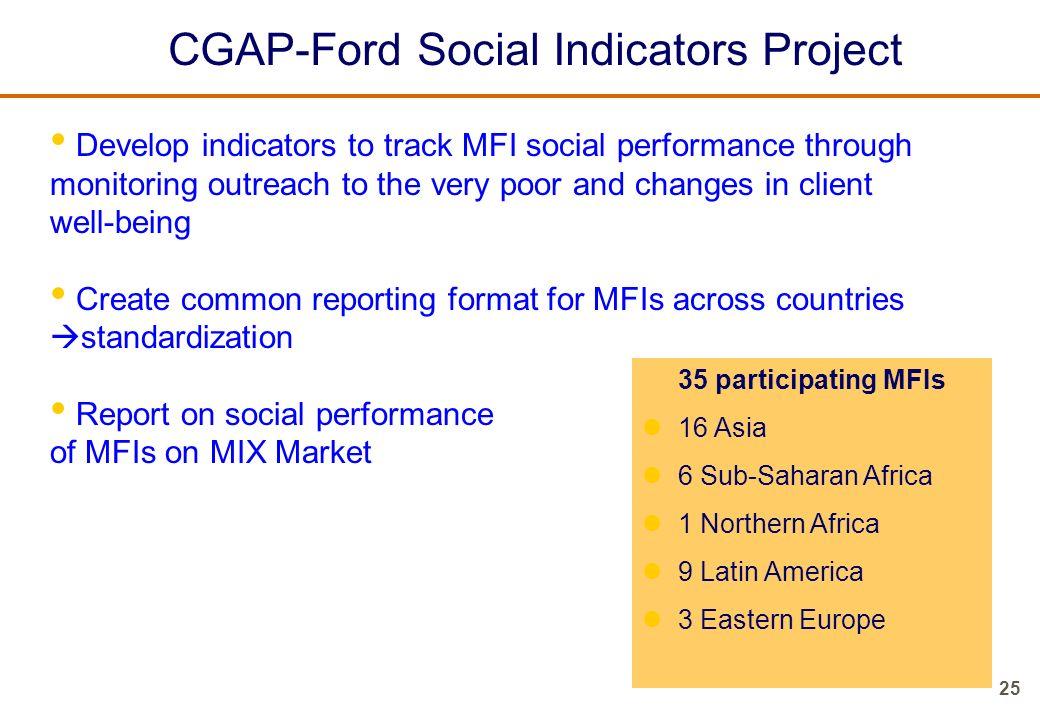CGAP-Ford Social Indicators Project