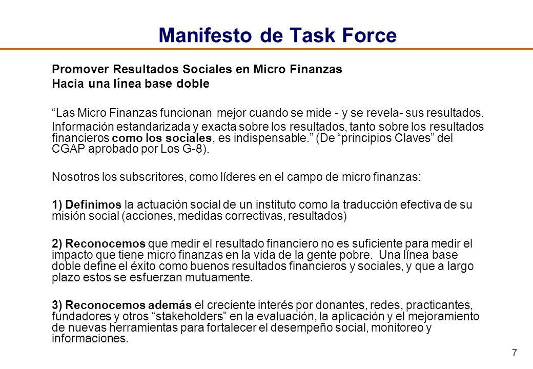 Manifesto de Task Force