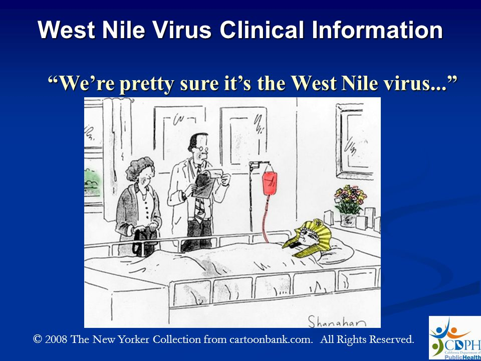 West Nile Virus Clinical Information