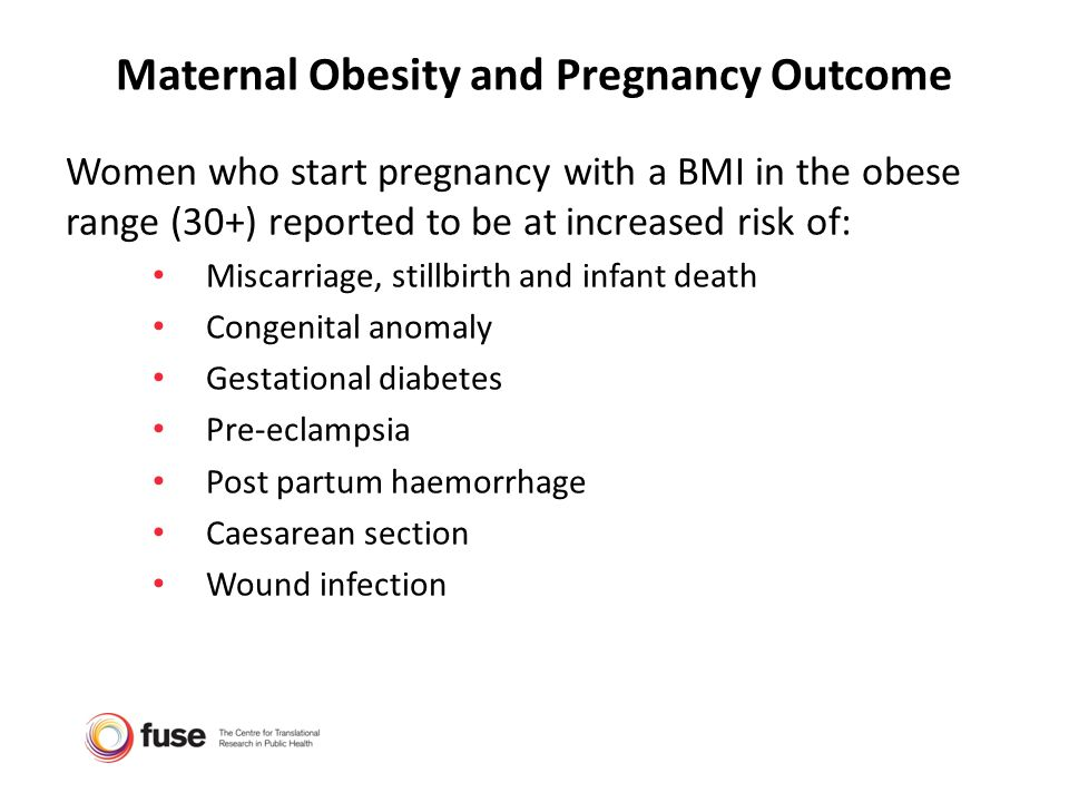 Maternal Obesity and Pregnancy Outcome