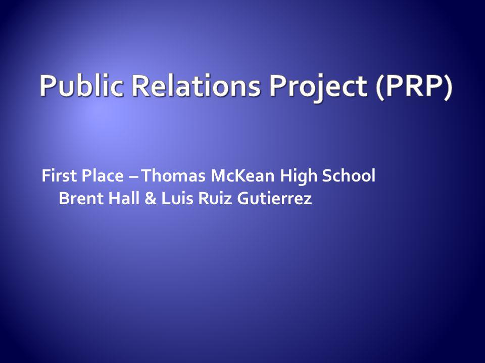 Public Relations Project (PRP)