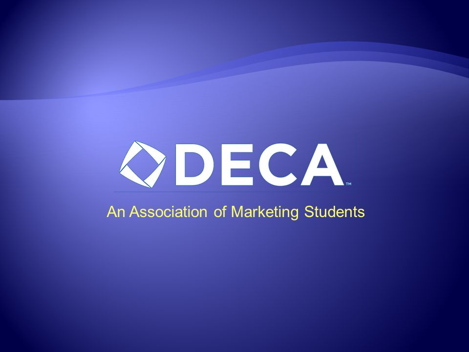 An Association of Marketing Students