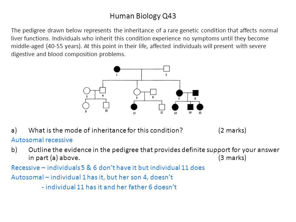 Human Biology Q43