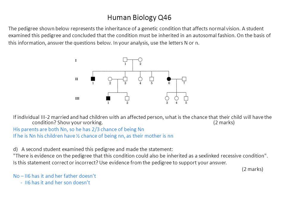 Human Biology Q46