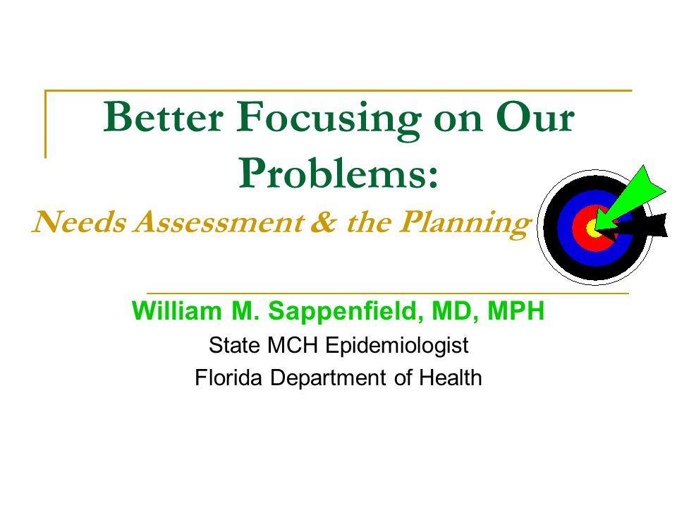 William M. Sappenfield, MD, MPH