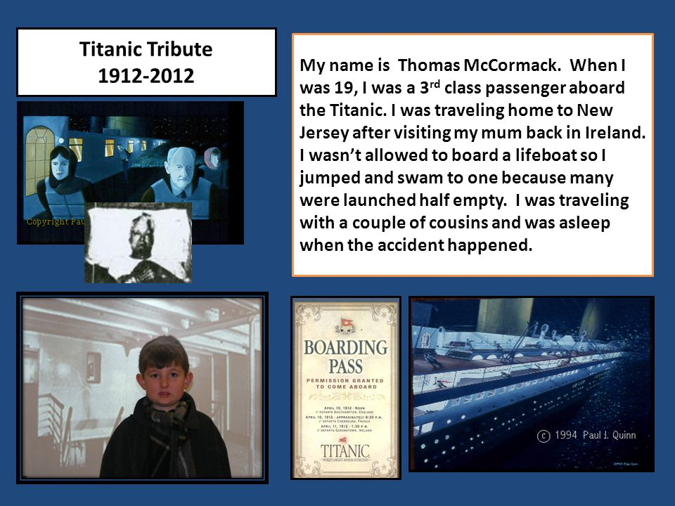 Titanic Tribute 1912-2012