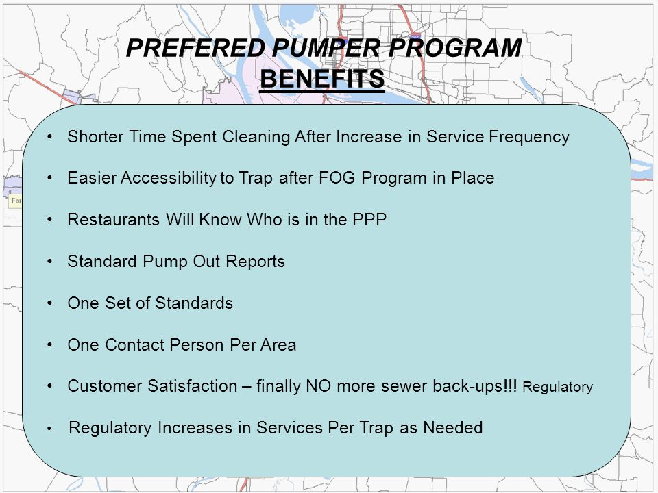 PREFERED PUMPER PROGRAM BENEFITS