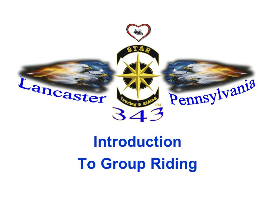 Introduction To Group Riding