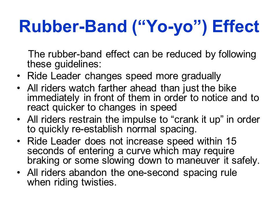 Rubber-Band ( Yo-yo ) Effect