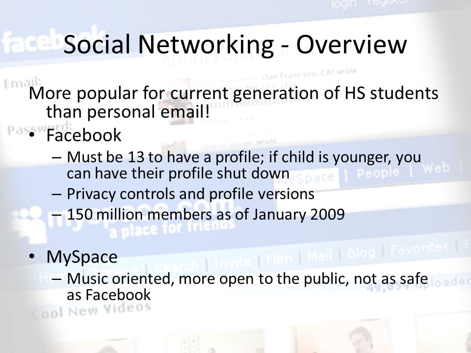 Social Networking - Overview