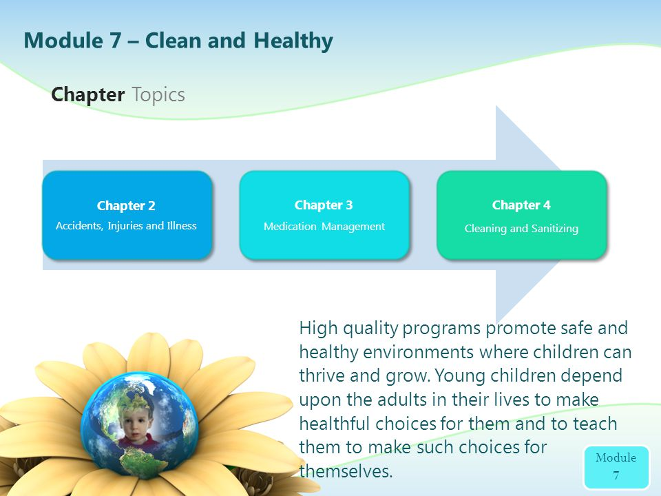 Module 7 – Clean and Healthy