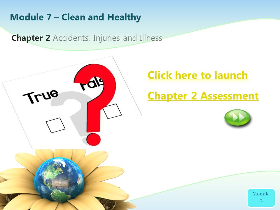 2 Click here to launch Chapter 2 Assessment
