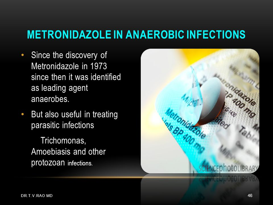 Metronidazole in Anaerobic Infections