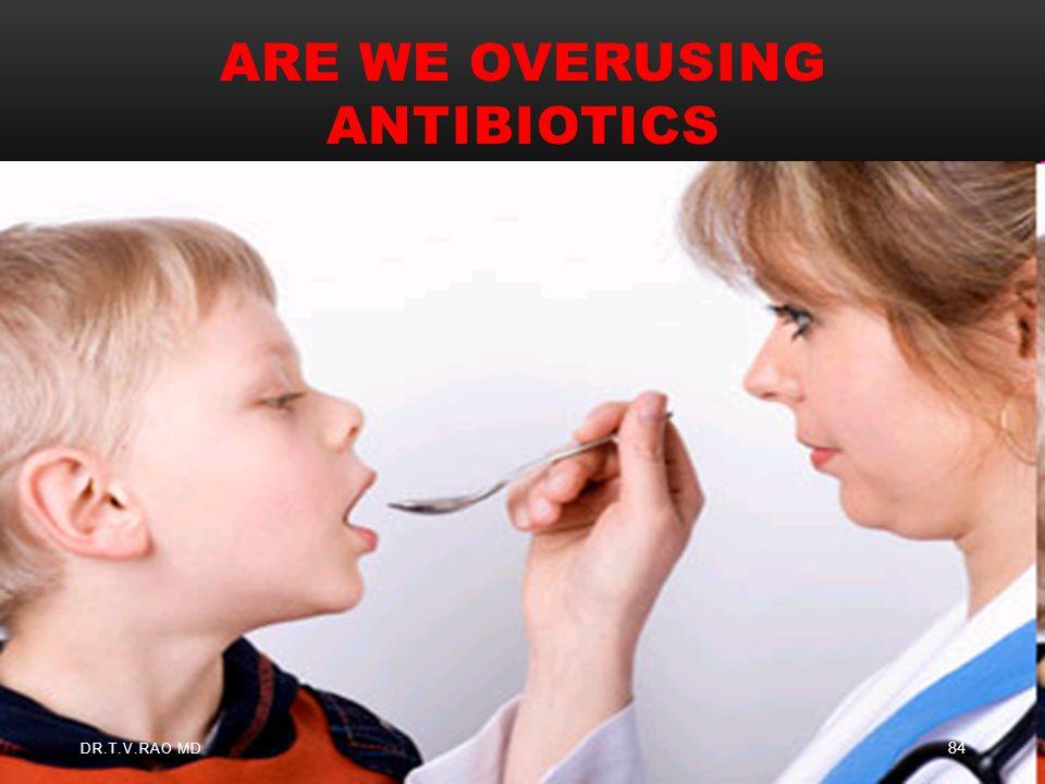 Are we overusing Antibiotics