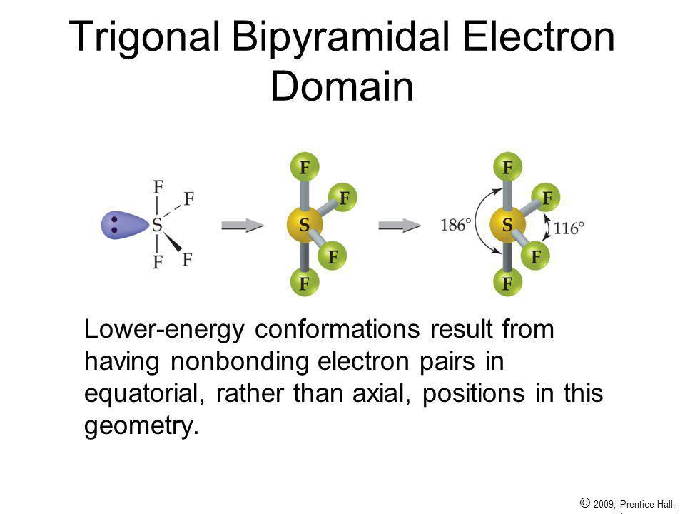 Trigonal Bipyramidal Electron Domain