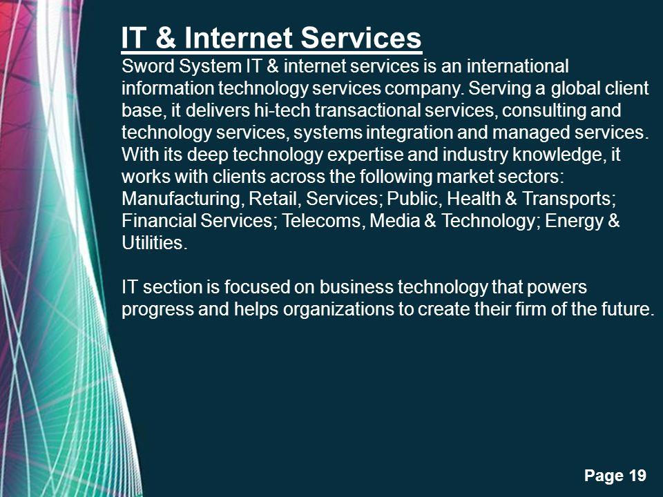 IT & Internet Services