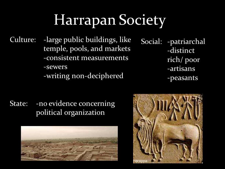 Harrapan Society Culture: