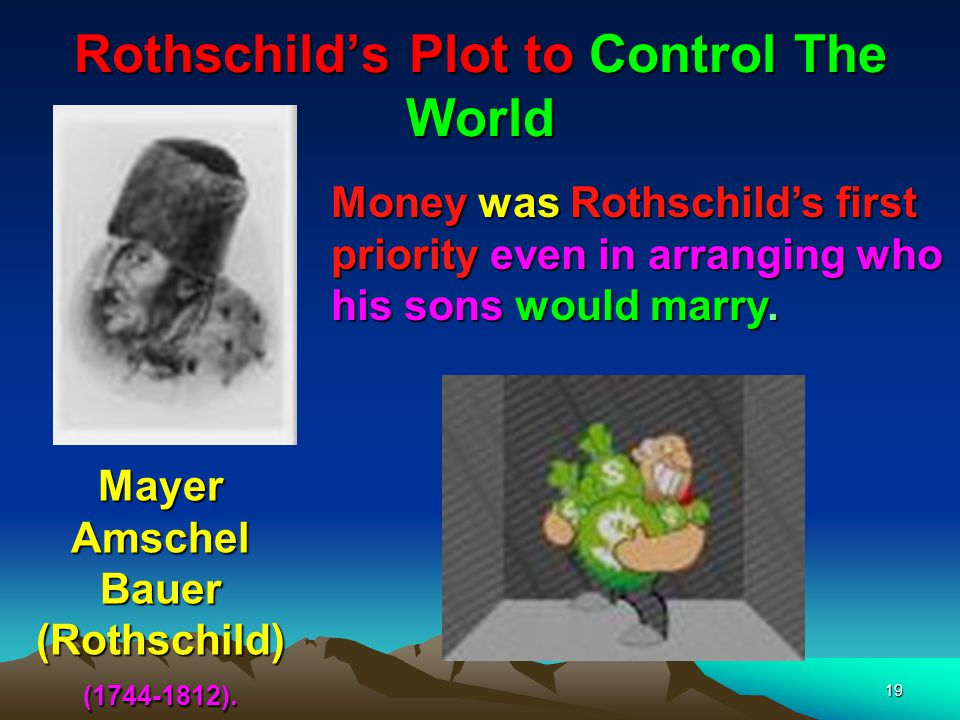 Rothschild's Plot to Control The World