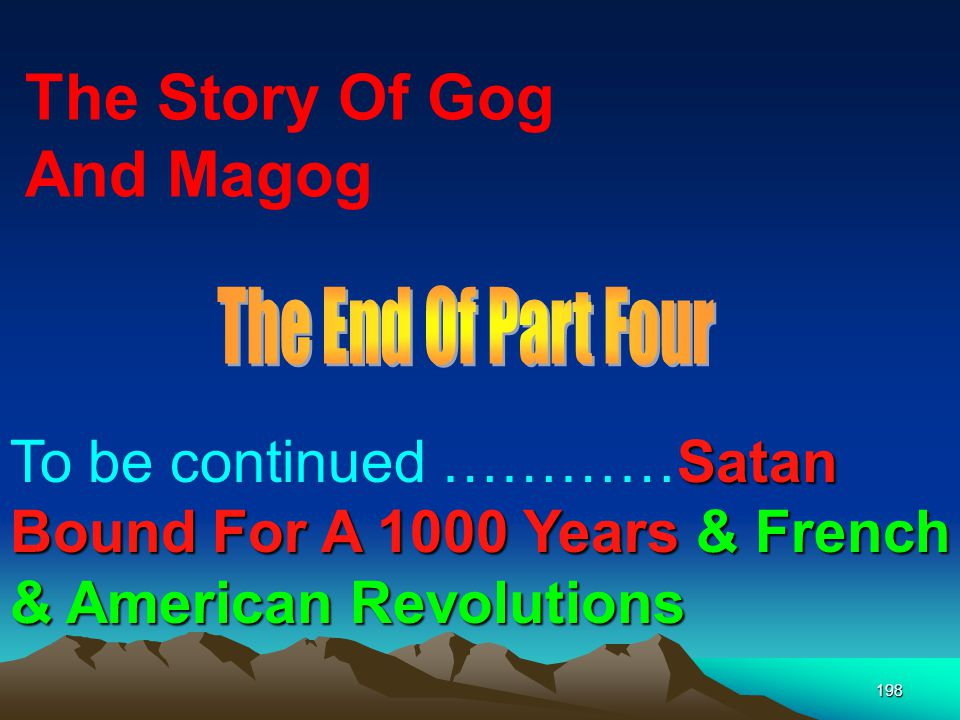 The Story Of Gog And Magog