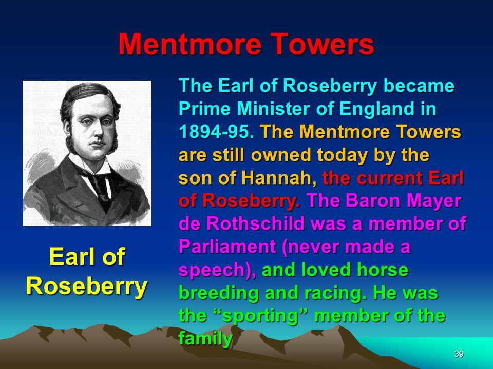Mentmore Towers Earl of Roseberry