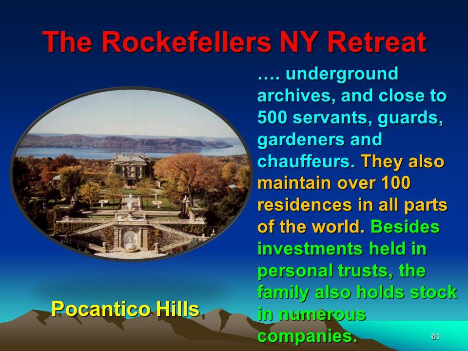 The Rockefellers NY Retreat