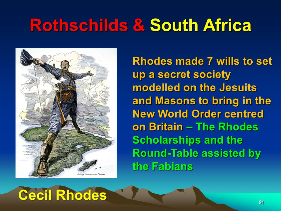 Rothschilds & South Africa
