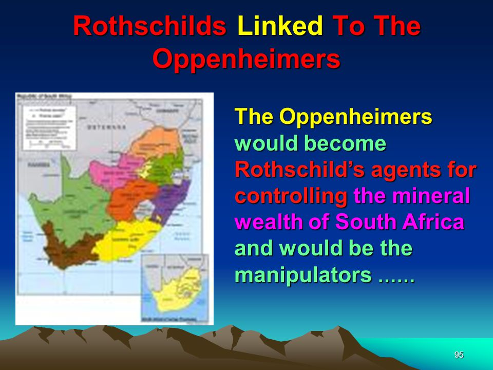 Rothschilds Linked To The Oppenheimers