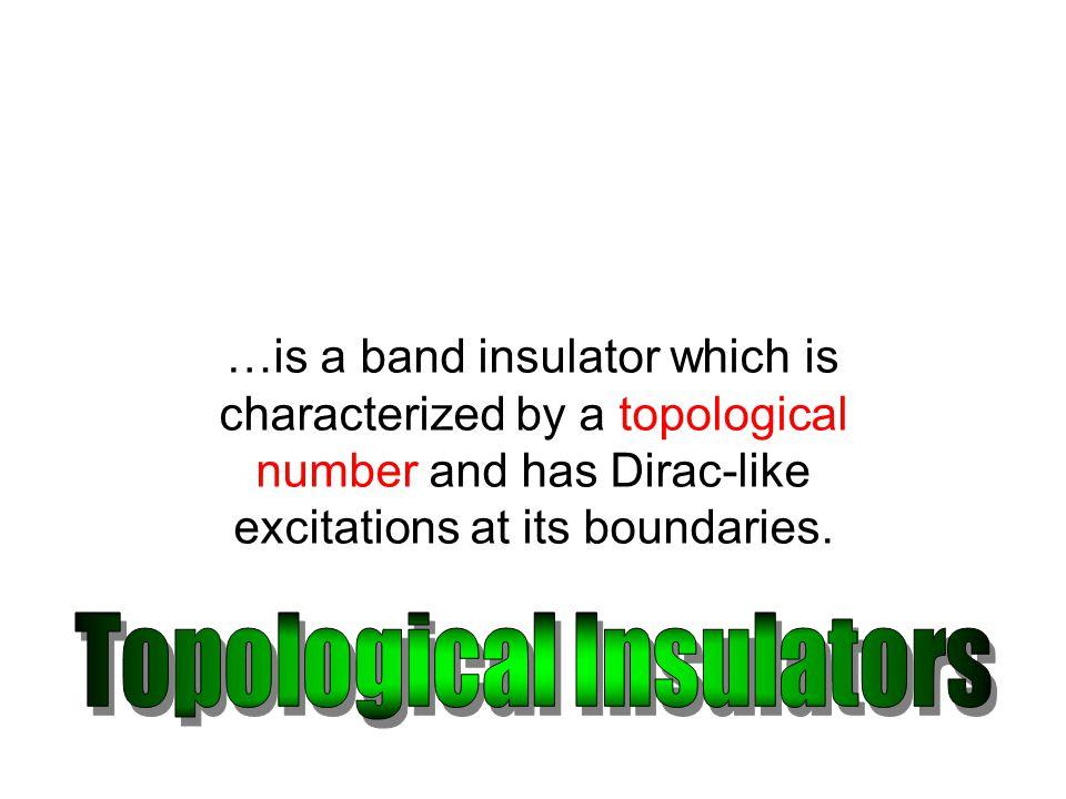 Topological Insulators