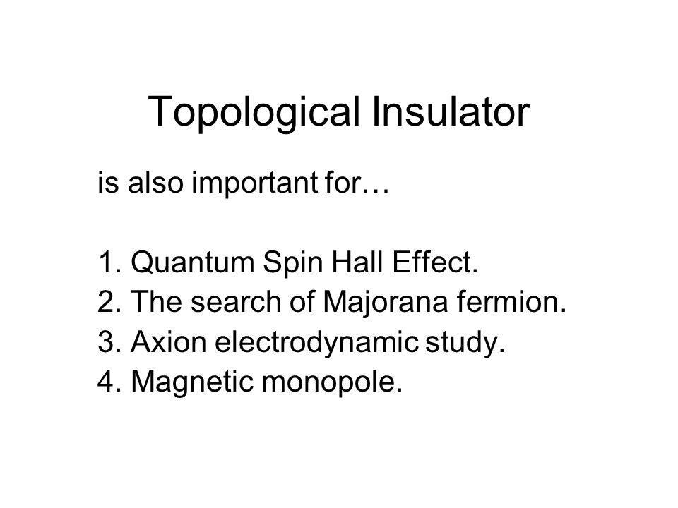 Topological Insulator