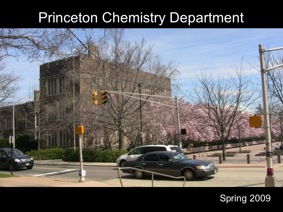 Princeton Chemistry Department