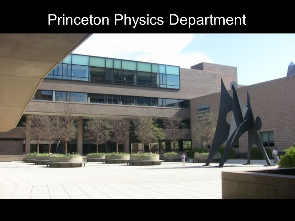 Princeton Physics Department