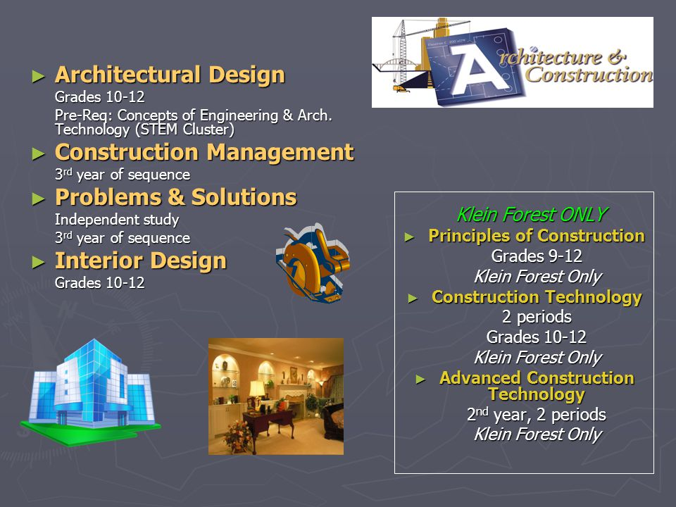 Construction Management Problems & Solutions Interior Design