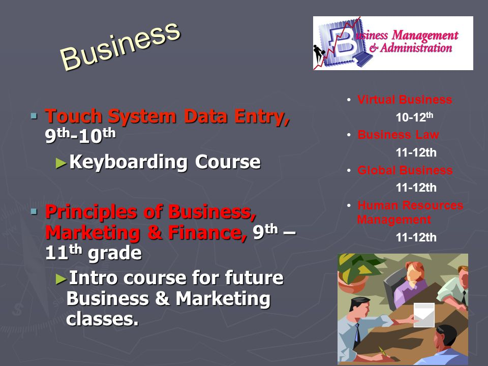 Business Touch System Data Entry, 9th-10th Keyboarding Course