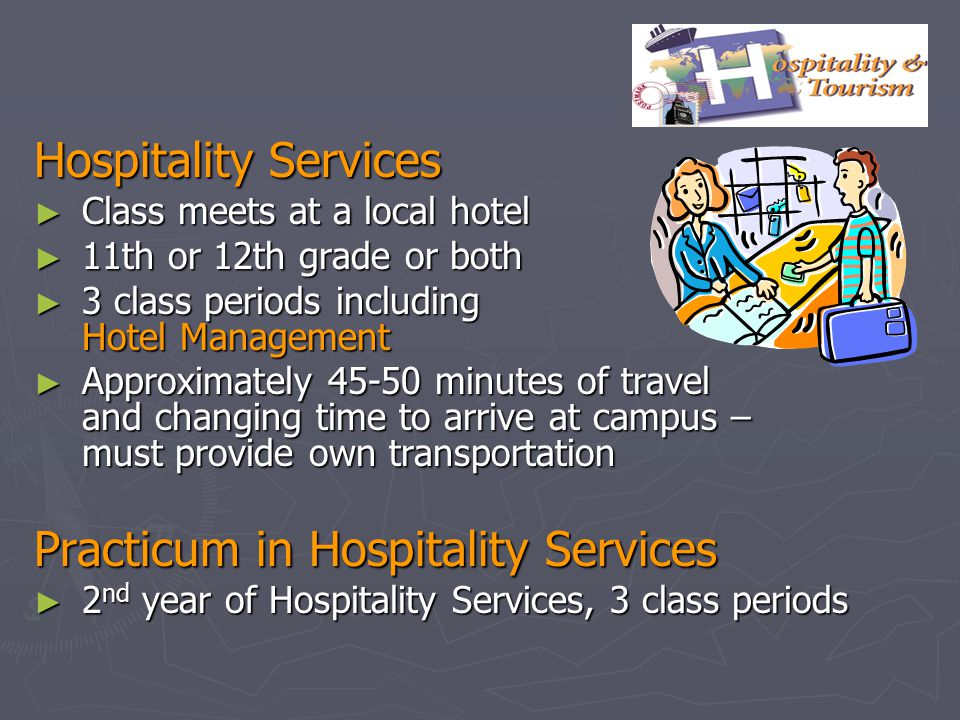 Practicum in Hospitality Services
