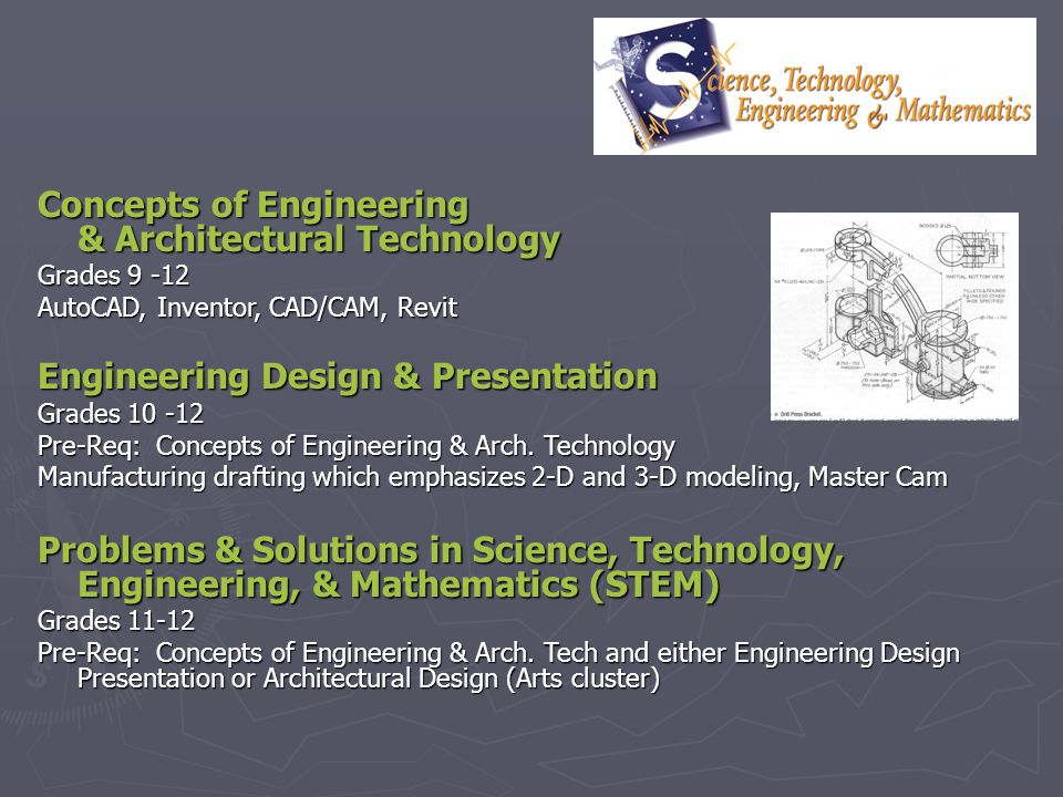 Concepts of Engineering & Architectural Technology