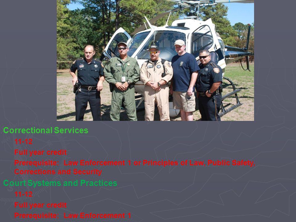 Correctional Services
