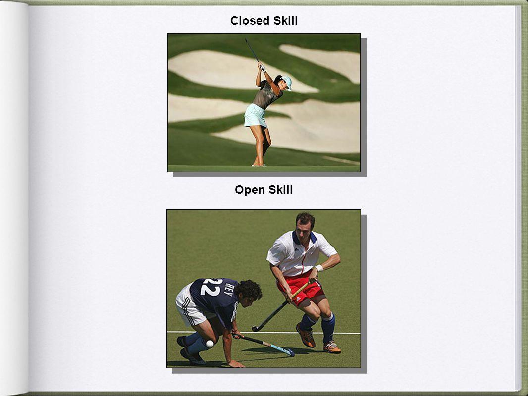 Closed Skill Open Skill