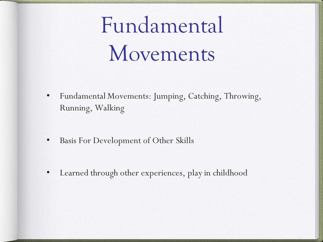 Fundamental Movements