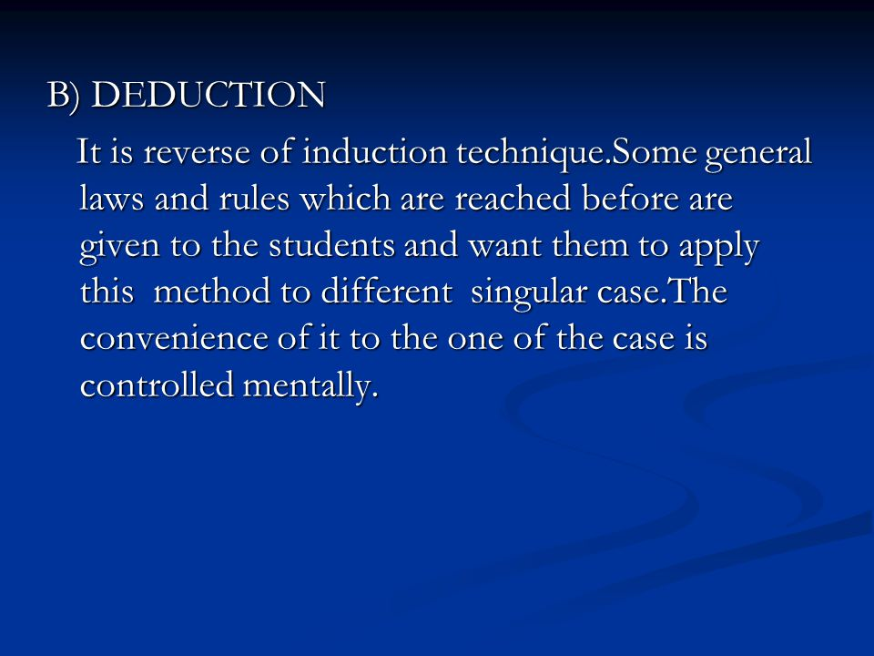 explain the problem of induction discuss This is known as the problem of induction in this paper, after giving deep introduction of induction and deduction, we explain views of different scholars about the problem these scholars, unfortunately, do not agree at a single point at the end of this discussion, we come up with a solution to the problem and conclude it.