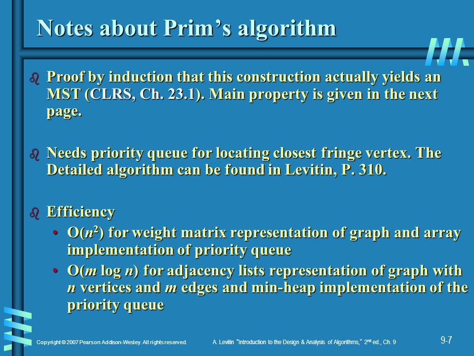 The Crucial Property behind Prim's Algorithm
