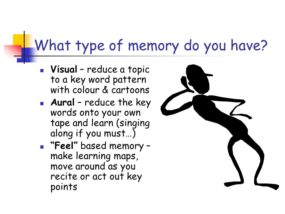 What type of memory do you have