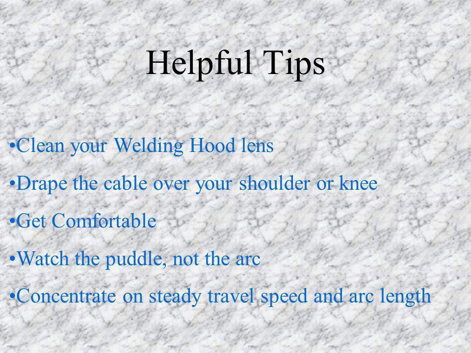 Helpful Tips Clean your Welding Hood lens