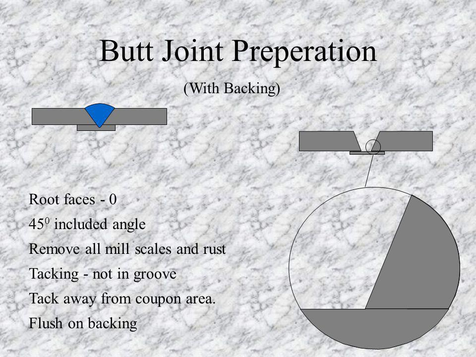 Butt Joint Preperation