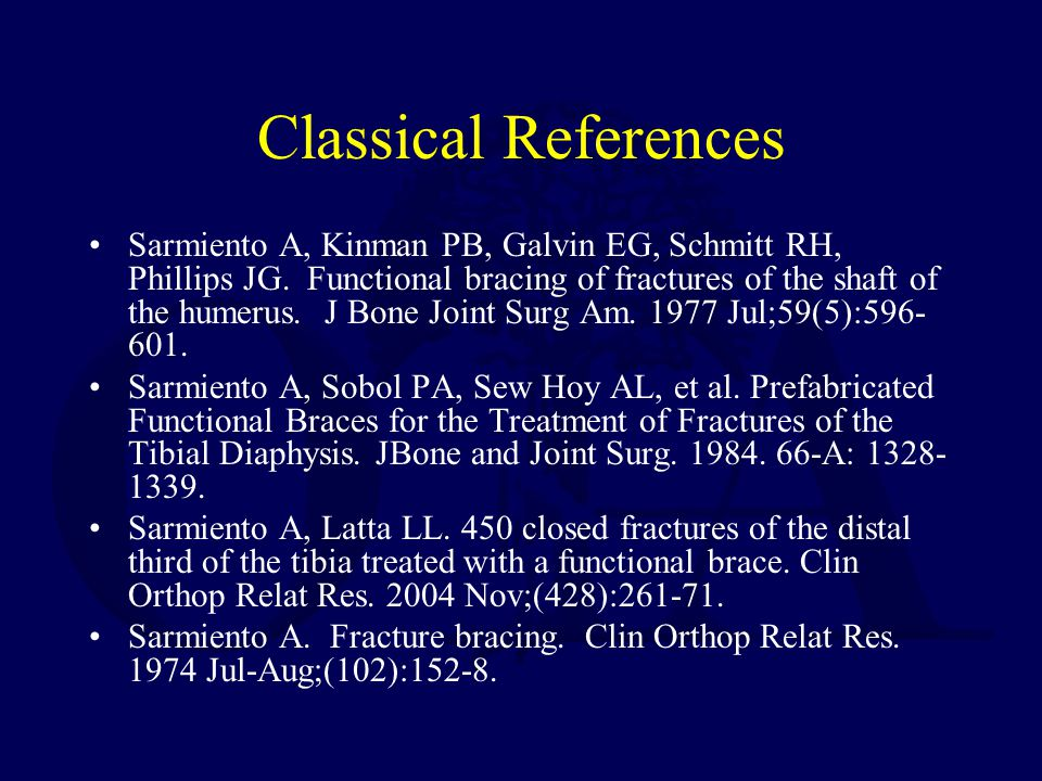 Classical References