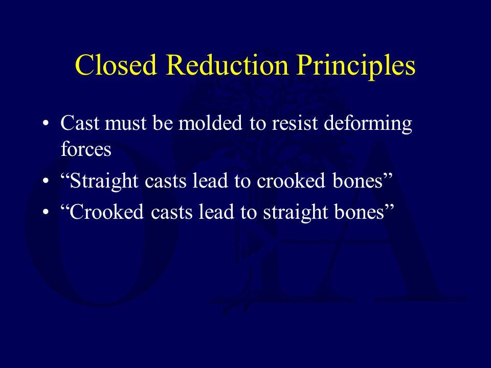 Closed Reduction Principles